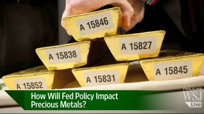 Wall Street Journal The Fed Amp Metals Markets