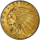 2.5 dollar Indian Gold Coin