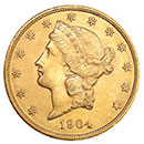 20 dollar Liberty Double Eagle Gold Coin