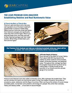 The Premium Coin Analyzer: Establishing Relative and Real Numismatic Value