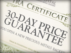 Lear Capital's 30 day price guarantee