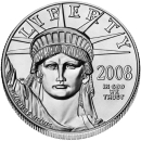 Front - Platinum American Eagle Bullion