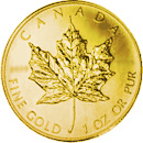 Coin Front Maple Leaf