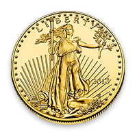 Coin Front American Gold Eagle