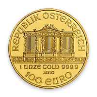 Back - Austrian Gold Philharmonic Bullion Coin