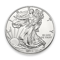 Coin Front Silver American Eagle