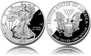 2010 American Silver Eagle Proof Coin